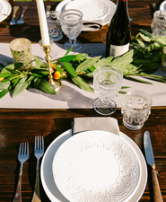 Desert place setting
