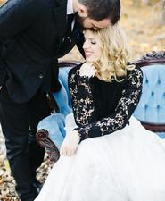 Black bridal fashion