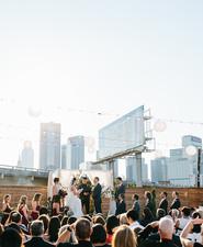 Texas Rooftop Wedding