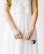 Organic bridal fashion