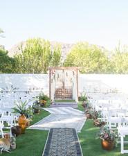 Paradise Valley wedding ceremony
