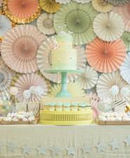 Pastel dessert party