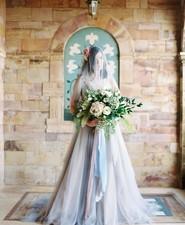Elegant wedding inspiration shoot at the chatzi mansion - Romantic Spring Wedding Green And White Wedding 100