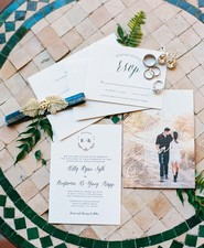 big sur wedding invites