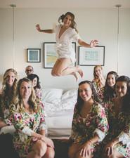 bride jump shot