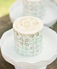 patterned wedding cakes