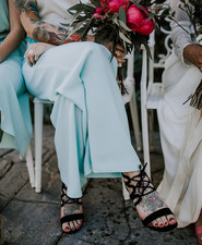 bridesmaid jumpsuit