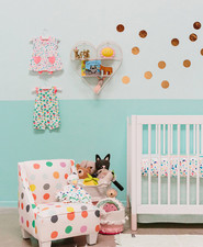 Bright girl's nursery ideas from the Oh Joy for Target fall 2017 line