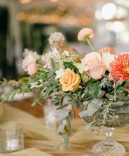 Elegant, pastel fall wedding at Tyler Arboretum in ...