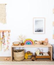 Louella's pastel nature-inspired girl's nursery