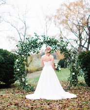 Elegant winter garden wedding ideas in Virginia