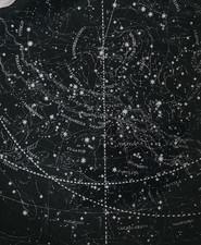 Celestial map plate