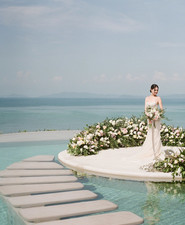 Elegant floral wedding ideas in Phuket Thailand