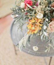Cactus rose desert inspired Moroccan baby shower in France