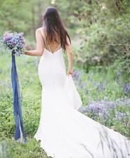 Forget me knot bridal bouquet