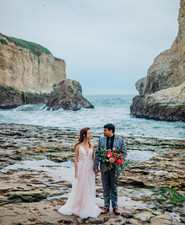Beach elopement inspiration