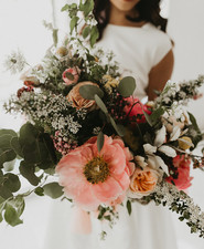 Garden wedding ideas and bouquet recipe at the Meerkermark