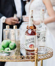 Packard Plant in Detroit wedding editorial