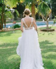 boho luxe wedding editorial in Cyprus, Greece