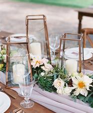 Romantic mauve Maui wedding with the most magical reception setting at Olowalu Plantation House