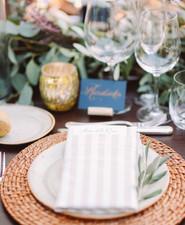 Romantic destination wedding at a pink Tuscan villa