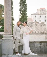 Chic wedding fashion shoot