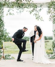 Jewish spring wedding
