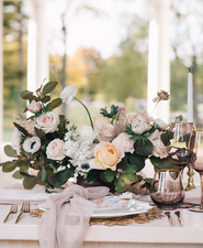 Soft fall floral arrangements