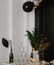 NYE champagne bar