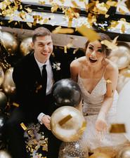 Confetti for NYE wedding