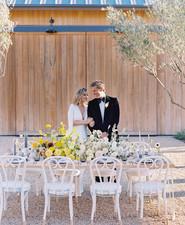 California summer wedding