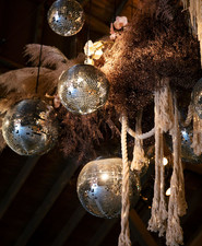 disco balls for wedding