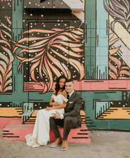 Neon Museum Vegas wedding