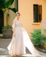 handmade Costa Rica wedding dress