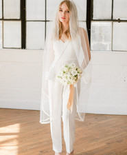 modern bridal jumpsuit