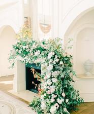 Elegant fireplace decor