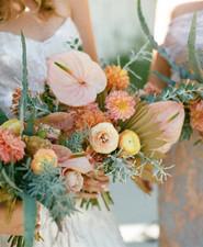 Palm Springs wedding florals