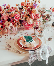 Galentine's Day party table