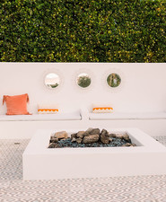 Palm Springs wedding lounge