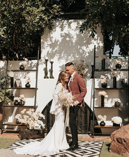 modern California elopement