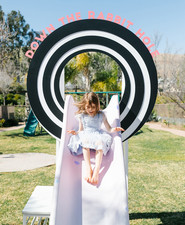 Alice in Wonderland kid birthday party
