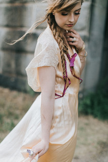 romantic fall bridal editorial