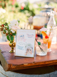 Romantic DIY Napa Valley wedding at Brix Restaurant