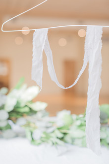 DIY dyed silk ribbon tutorial on 100 Layer Cake