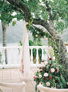 Romantic wedding in Spain