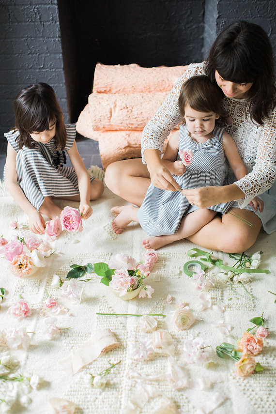 Mother Daughter Tea Party By Bows And Arrows Flowers And