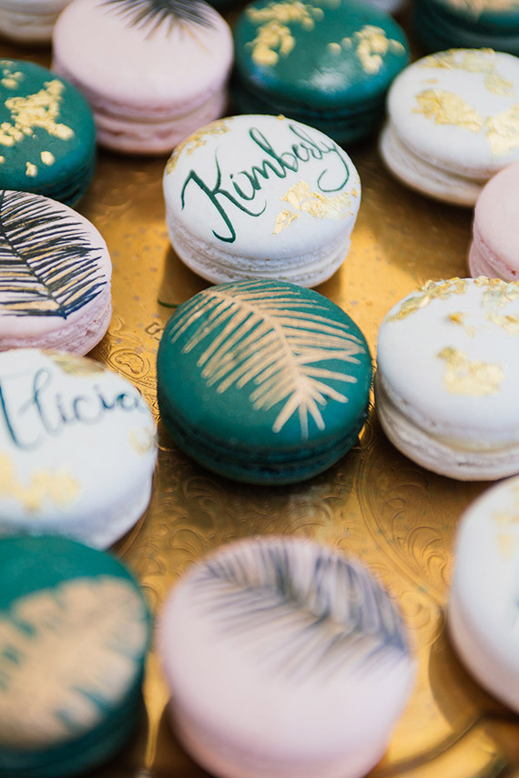 Tropical Macarons Wedding Amp Party Ideas 100 Layer Cake