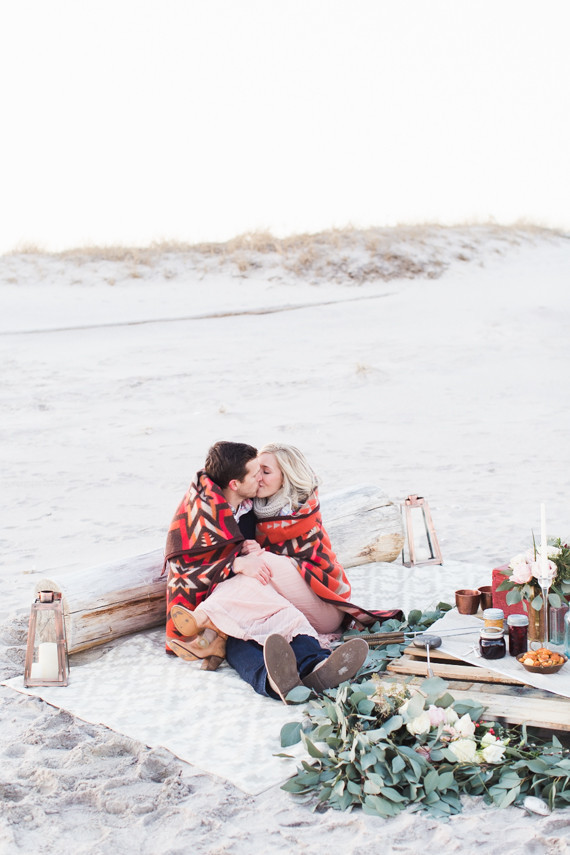 Early Spring Beach Proposal Wedding Amp Party Ideas 100
