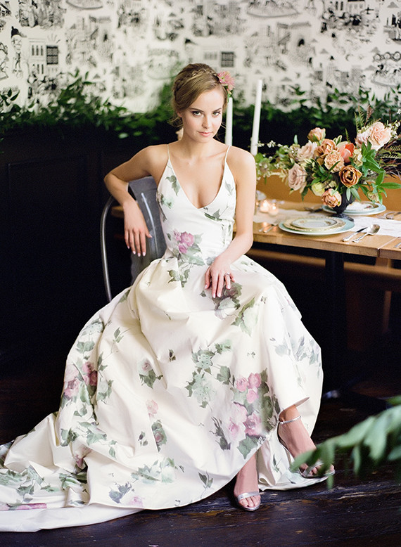 Floral Reception Dress Wedding Amp Party Ideas 100 Layer