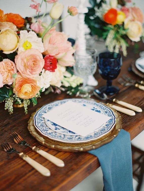 Vintage Spanish Inspired Wedding Tablescape Wedding Amp Party Ideas 100 Layer Cake